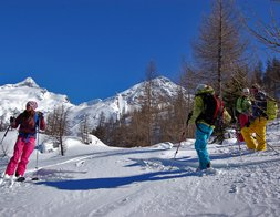 FREERIDE INSTRUCTION ¦ Private off piste skiing lesson for adults