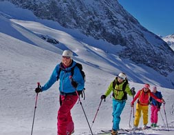 Backcountry ¦  Ski touring instruction for beginners (skinning)