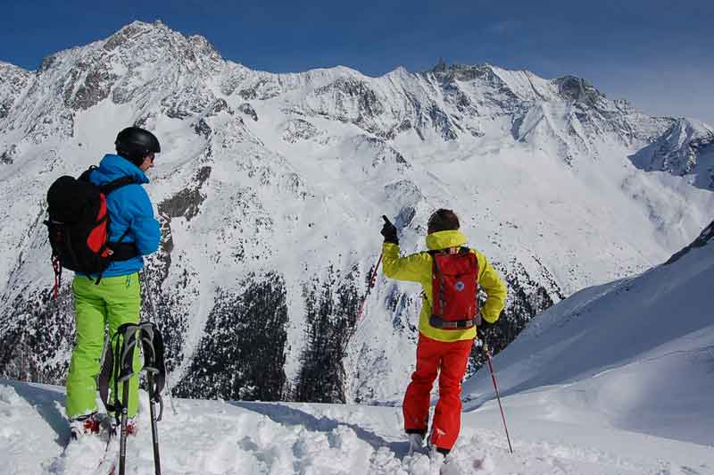 Freeride instruction