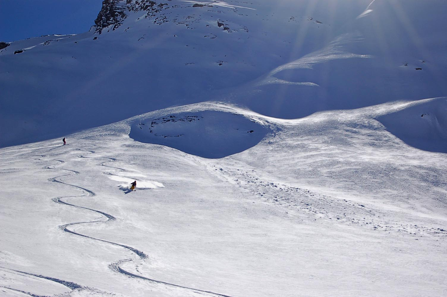 Cours avalanches Valais - Les Bases - Cours collectif