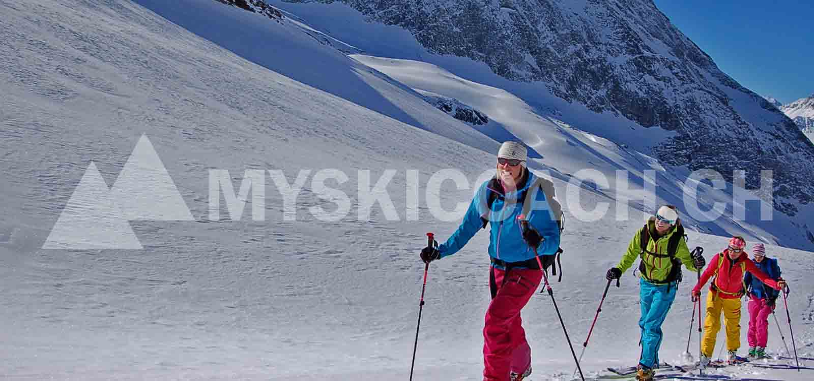 Backcountry skiing instruction for beginners ¦ MySkiCoach.ch