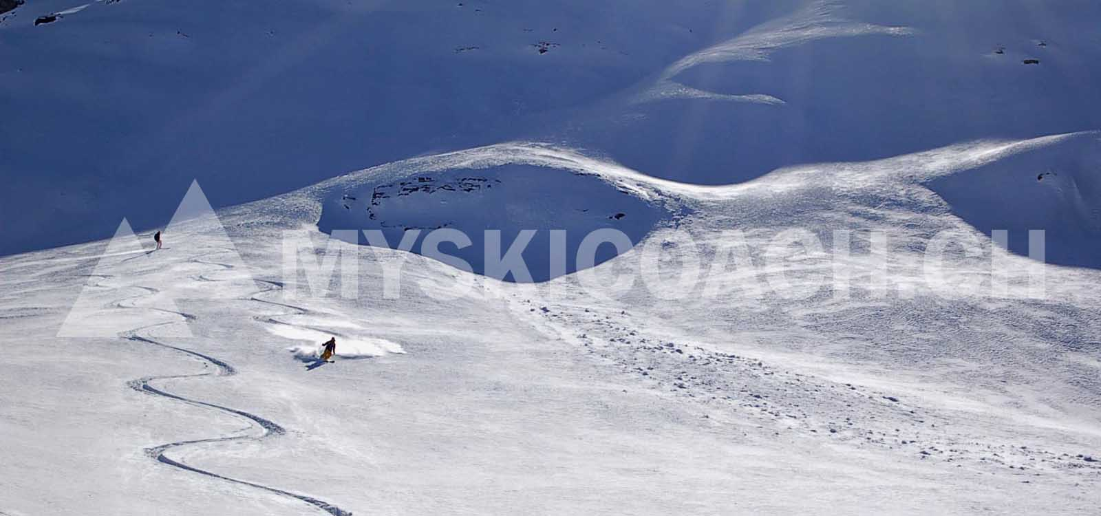 Avalanche course Valais ¦ Basics ¦ Snow Safety Myskicoach.ch