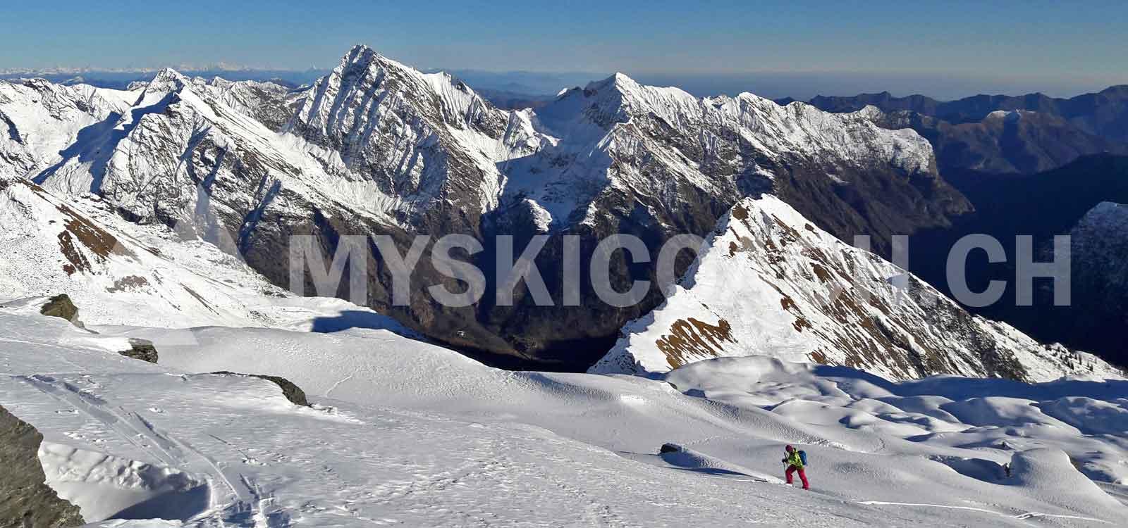 Freeride Monte Rosa - Gressoney - Alagna - Champoluc ¦ MySkiCoach.ch