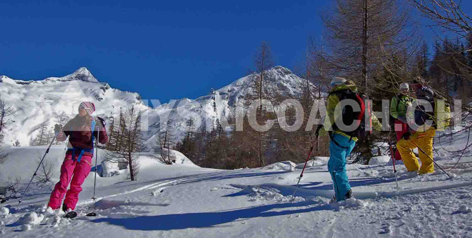 Ladies only private off piste skiing/freeride lesson